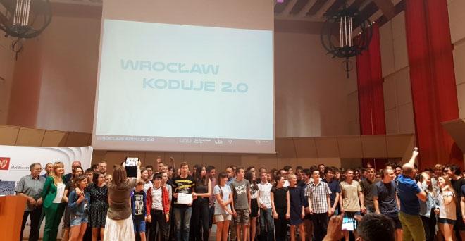 Wrocław Koduje 2.0 – Gala