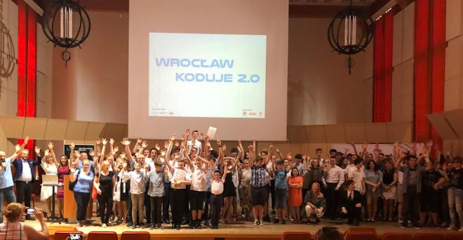 Gala 2019 Wrocław Koduje 2.0